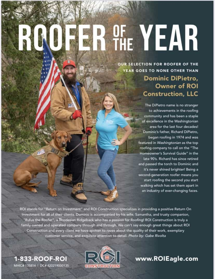 Roofer of the Yeart Award